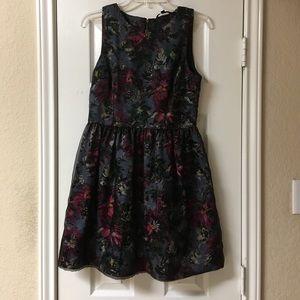 Felicity & Coco Floral Print Fit & Flats Dress